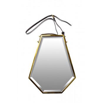 Зеркало на подвесе в золотой раме 40*55*5,3см 19-OA-6044