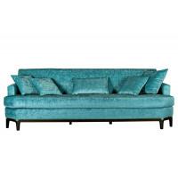 Велюровый трёхместный диван Бирюзовый 254*98*84см DY-684- 8311611
