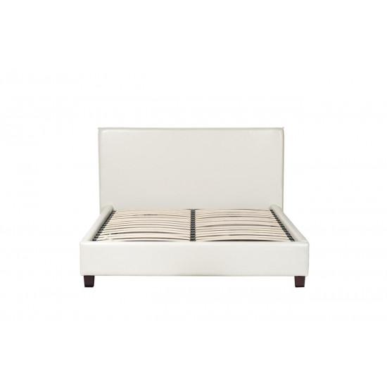 Двуспальная белая кровать 115х160х200 см PJB-001 в интернет-магазине ROSESTAR фото
