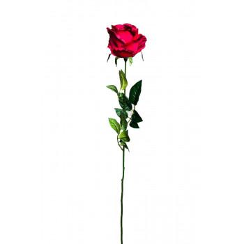 Роза бордовая 71 см 8J-11GS0069-3
