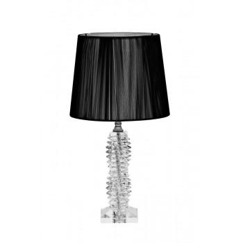 Настольная лампа с черным абажуром X71207BL