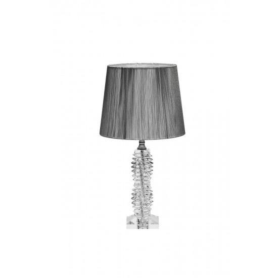 Настольная лампа серебряная X381207 в интернет-магазине ROSESTAR фото