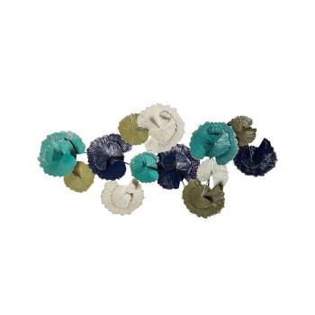 Настенный декор Цветы 141*68,6*15,9 см 37SM-0102