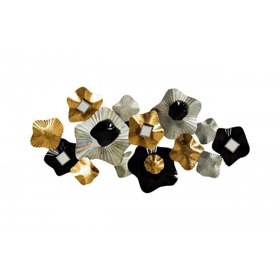 Настенный декор Цветы 134,6*67,3*10,2см 37SM-0678 в интернет-магазине ROSESTAR фото