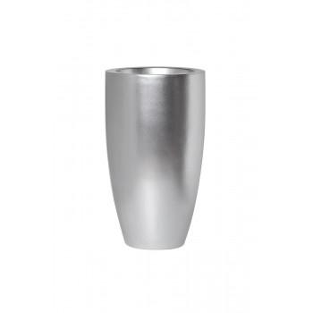 Кашпо 33*33*58см цвет серебро ZS-C899-23