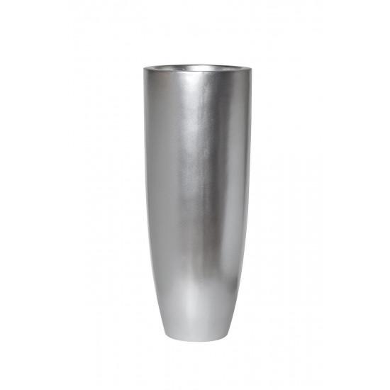 Кашпо серебряное 37*37*91см ZS-C899-36 в интернет-магазине ROSESTAR фото