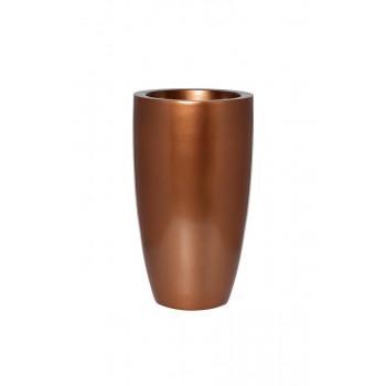 Кашпо 33*33*58см цвет медный ZS-C899-23G