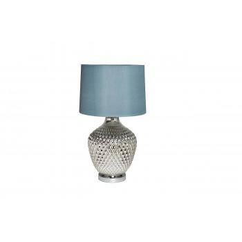 Настольная лампа с синим абажуром 22-88017