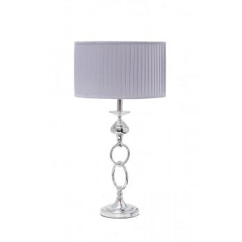 Настольная лампа с серым абажуром K2BT-1052-1