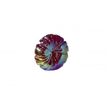 Керамическая ваза разноцветная перламутр 23х6х23 10K9513C-WWB