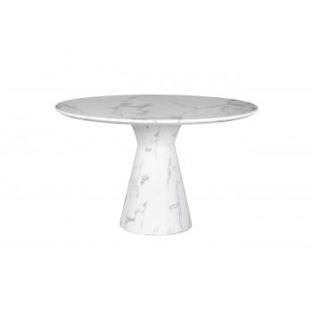 Стол обеденный круглый белый 33FS-DT120-WH