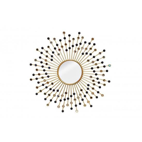 Зеркало солнце декоративное d99 см 19-OA-6056 в интернет-магазине ROSESTAR фото