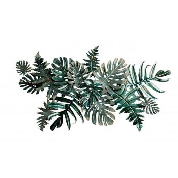 Настенный декор Листья тропические 134,6*74,9*8,9см 37SM-0378