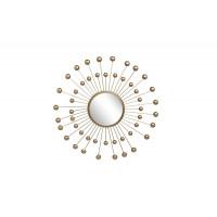 Зеркало солнце декоративное 60,3*60,3*3,2 см, центральный диаметр 20 см 37SM-0253