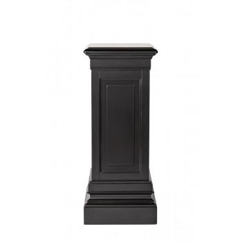 Черный деревянный пьедестал 330х330х800 SH-HH-CN.01