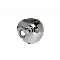 Подсвечник керамический Слоник серебряный 11,5х10,5х9,5 10K9482A