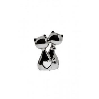 Статуэтка Котики серебряная 11х5х15 10K9287D