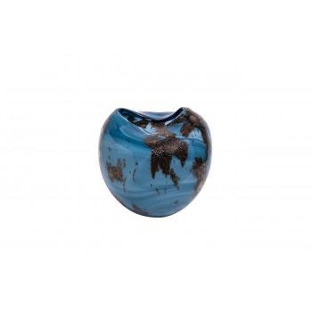 Стеклянная ваза (цветная) H20D22 HJ360N-20-S75