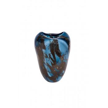 Стеклянная ваза (цветная) H27D20 HJ666N-27-S75