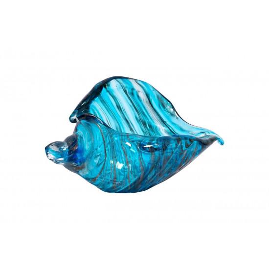 Статуэтка Ракушка голубая 19*9,5*12см F7289 в интернет-магазине ROSESTAR фото