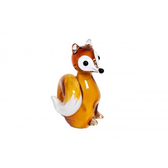 Статуэтка Белка цветная 13x11x17 см F7183 в интернет-магазине ROSESTAR фото