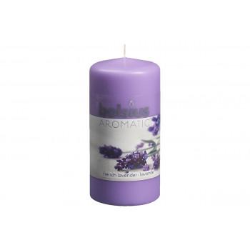 Ароматическая свеча столбик Лаванда 120х60 мм