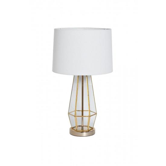 Настольная лампа, плафон белый d35*72см 22-88243 в интернет-магазине ROSESTAR фото