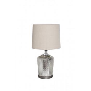 Настольная лампа с кремовым абажуром 22-88237