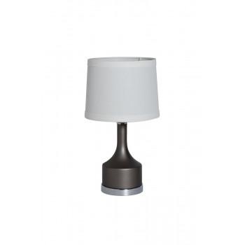 Настольная лампа с кремовым абажуром 22-88257