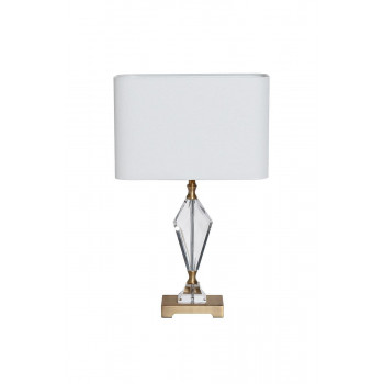 Белая настольная лампа 22-88232