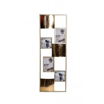Настенное декоративное панно с фоторамками 31,1*89,5*2,5см 37SM-1439-А