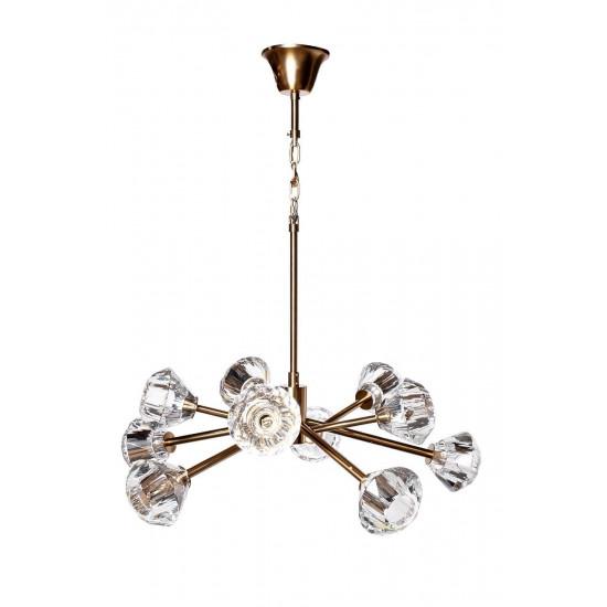 Светильник потолочный d88*60см 20MD3471-10G в интернет-магазине ROSESTAR фото