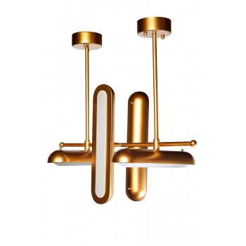 Светильник потолочный 70х46, цвет золото 21BL-E04G