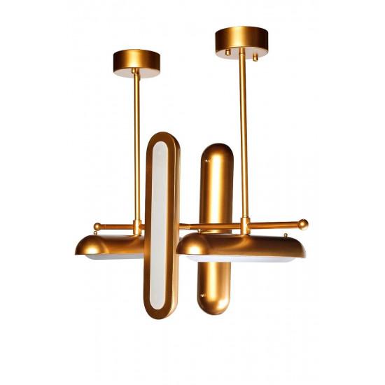 Светильник потолочный цвет золото 21BL-E04G