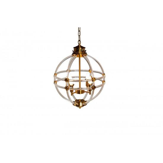 Сферический светильник потолочный винтажный K2MP-766BR в интернет-магазине ROSESTAR фото