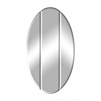 Овальное зеркало с двумя фасками 76*6*137см KFG024