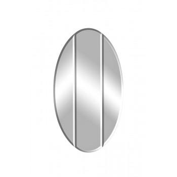 Овальное зеркало с широким фацетом 76*6*120см KFG025