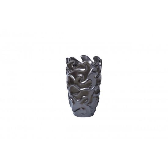 Кашпо цвет металлик 29*29*49 ZSC1089-19 в интернет-магазине ROSESTAR фото