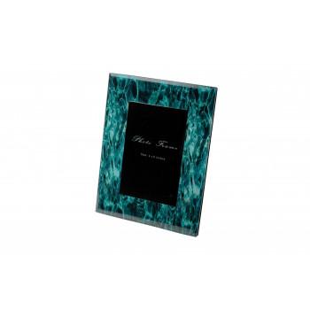 Декоративная бирюзовая фоторамка 18*23*1,3см KFP107