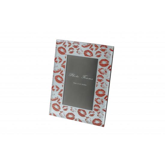 Декоративная фоторамка Поцелуй 18*23*1,3см KFP129  в интернет-магазине ROSESTAR фото