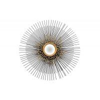 Зеркало солнце декоративное d92см, центр 15см 19-OA-5656-1