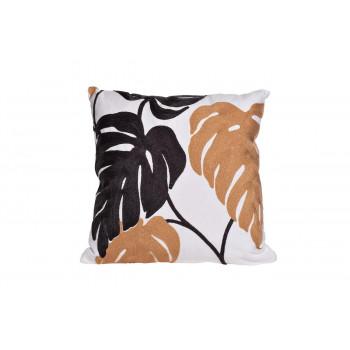 Декоративная квадратная подушка Листья монстеры 45*45см 28ML-P00155