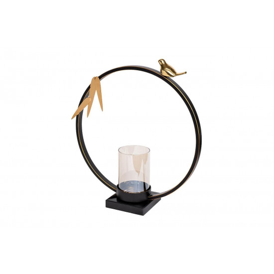 Декоративный металлический подсвечник 33*8*38см 55RD3048S в интернет-магазине ROSESTAR фото
