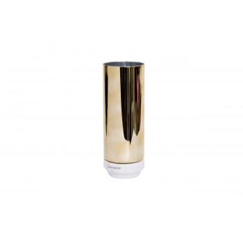 Стеклянная ваза золотая 10*27см 55RV3111L