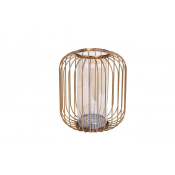 Декоративная ваза-подсвечник 21*25,5см 55RV2946S