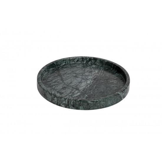 Поднос мраморный цвет малахитовый d30*3см 55RD3288 в интернет-магазине ROSESTAR фото