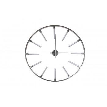 Часы настенные круглые цвет серебро d91см 19-OA-6157SL