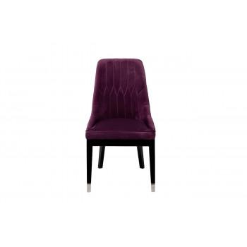 Велюровый стул фиолетовый 56*65*101см 48MY-3526 VLT