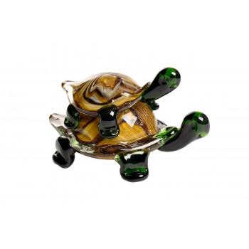 Статуэтка Черепашки коричнево-зеленая 16*10*10см