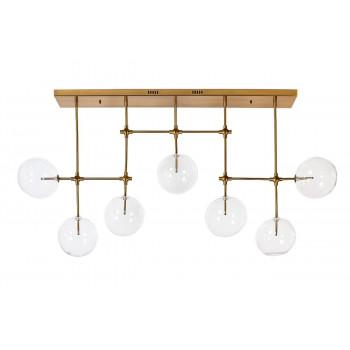 Оригинальный светильник потолочный Стеклянные шары K2KG0835P-7A